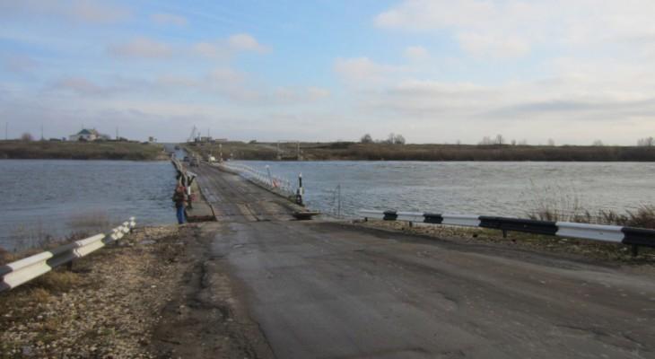Мост через Чепцу в Каринторфе готовят к открытию