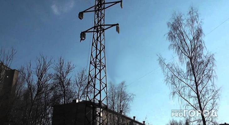 В Кирове парень получил сильные ожоги после падения на линию электропередач