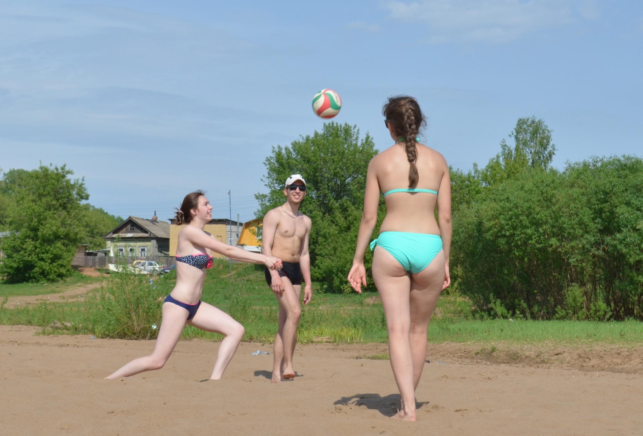 Дату открытия городского пляжа в Чепецке перенесли