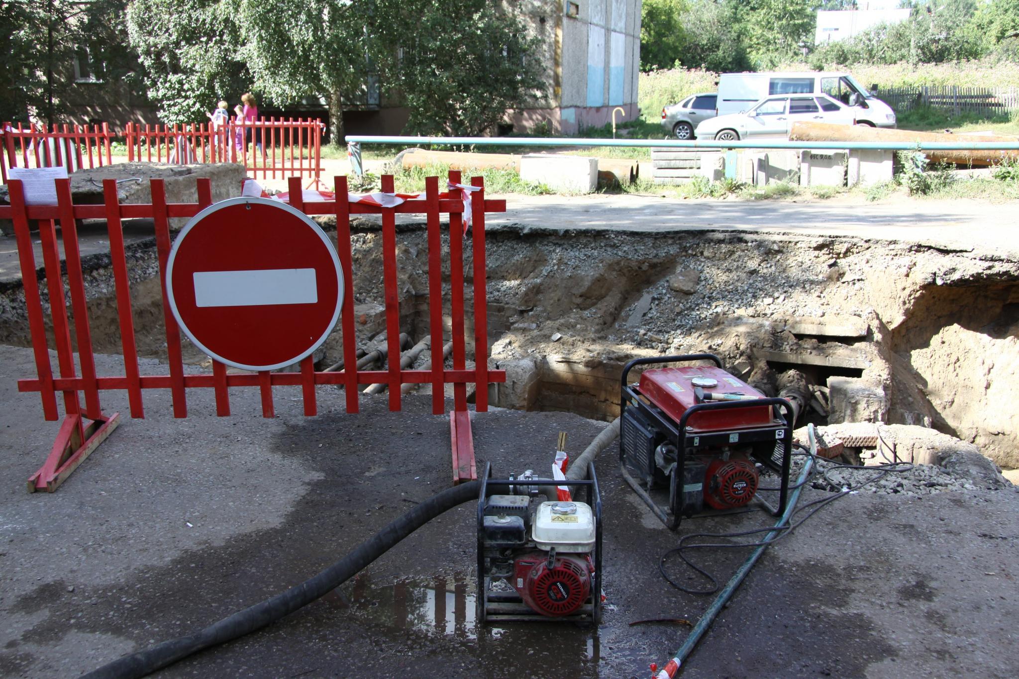 В Кирово-Чепецке будет проведена реконструкция теплотрасс