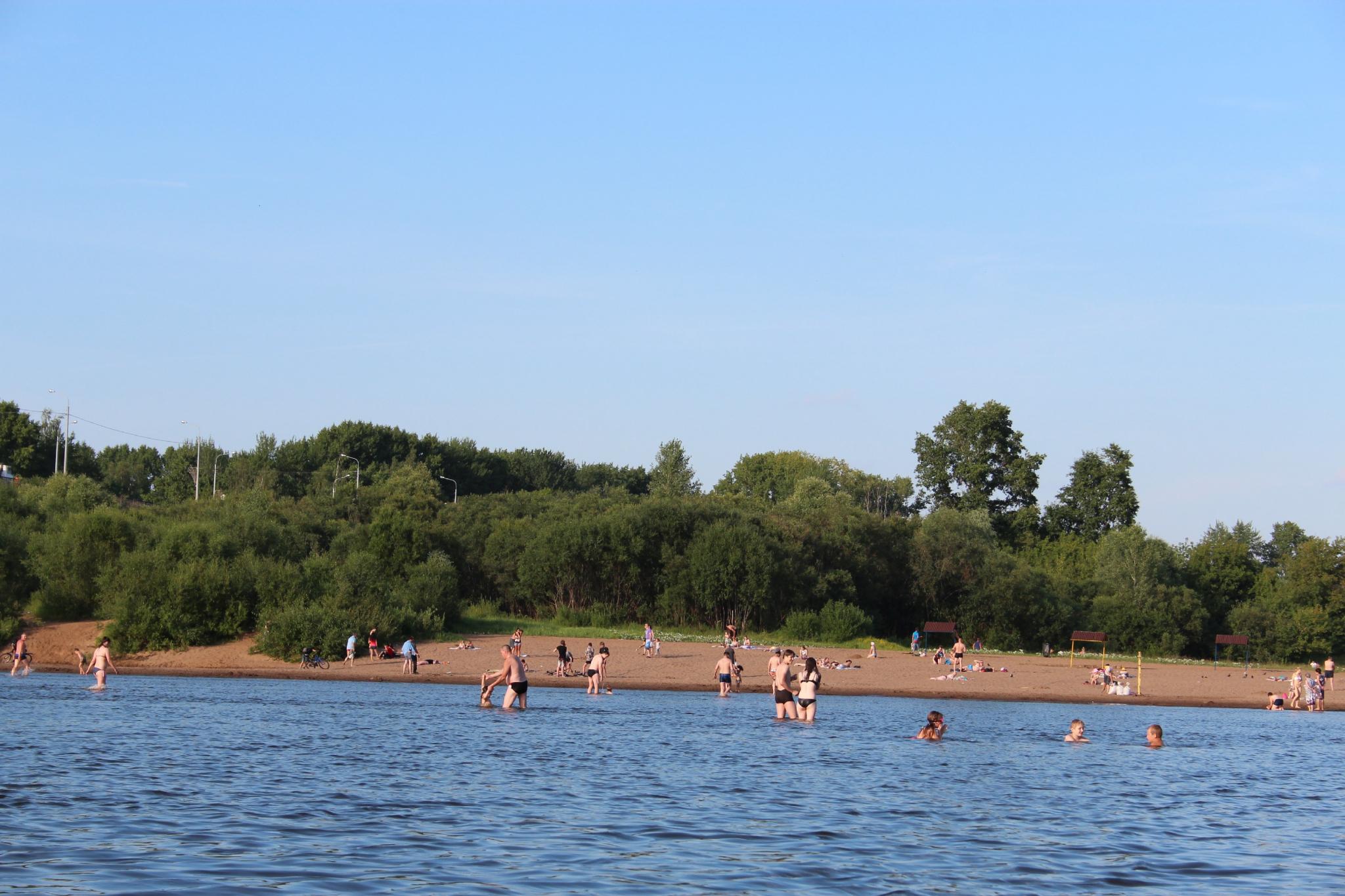 В Кирово-Чепецке открыли городской пляж