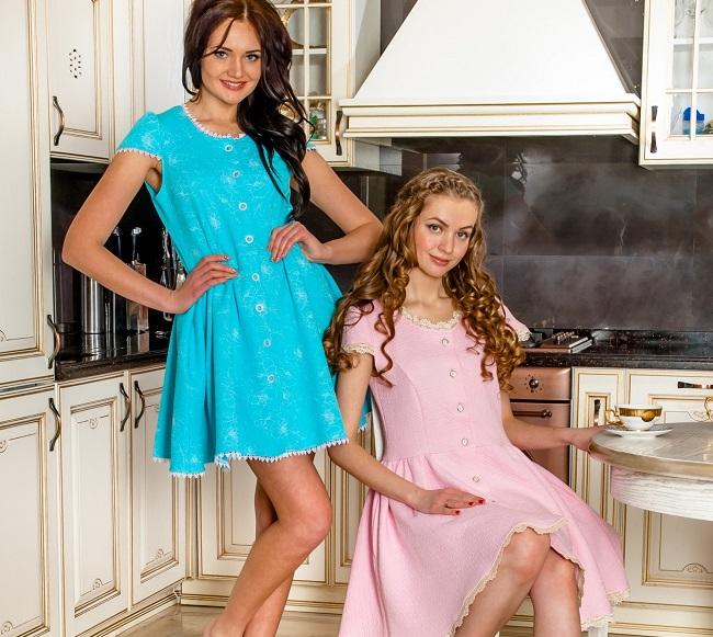 Формируем женский домашний гардероб: внимание на халаты