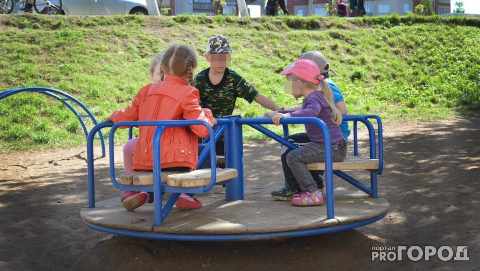 Бывший зэк увел двух детей с площадки в Кировской области