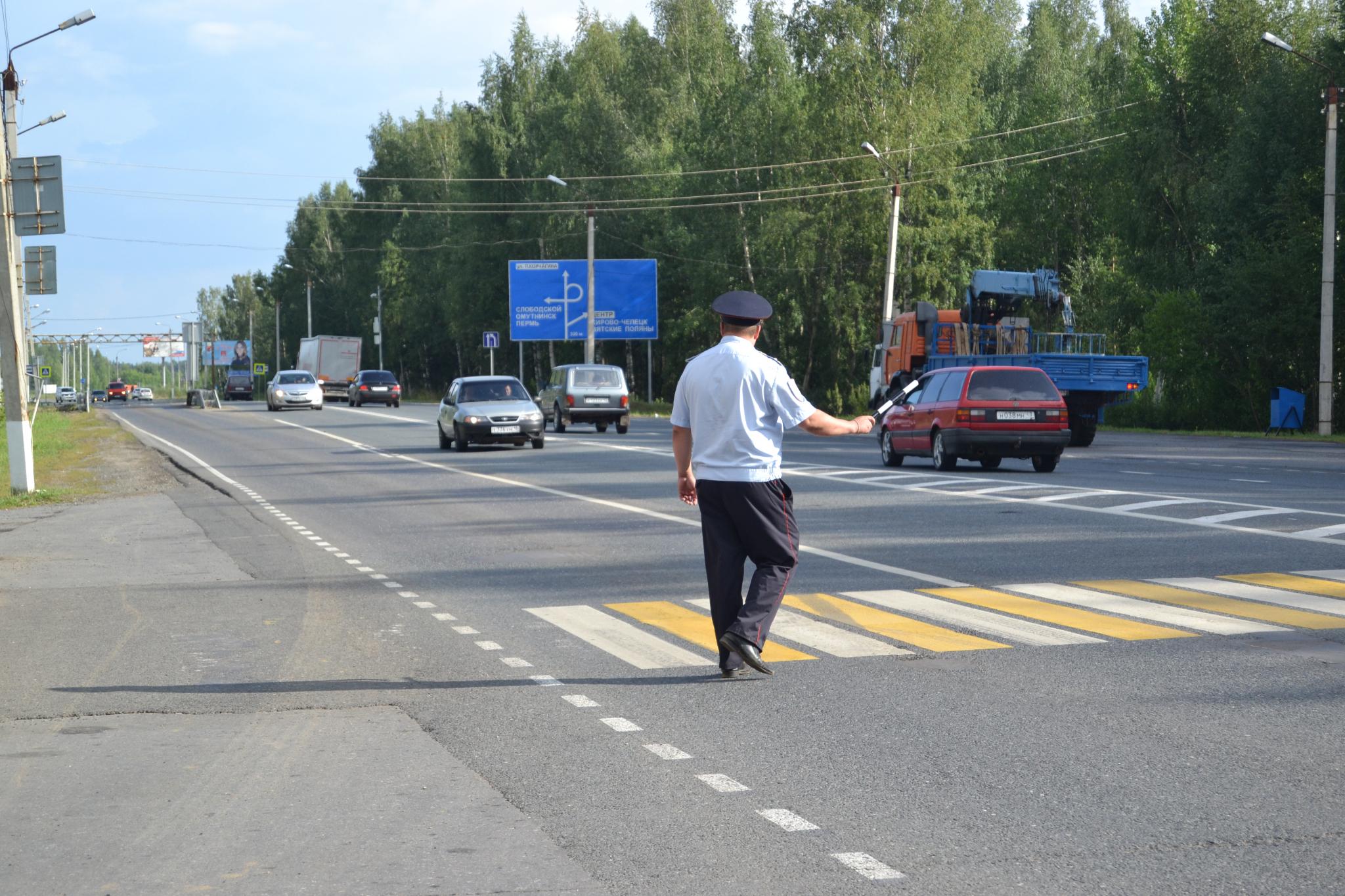 В Кирово-Чепецке пройдут сплошные проверки мотоциклистов