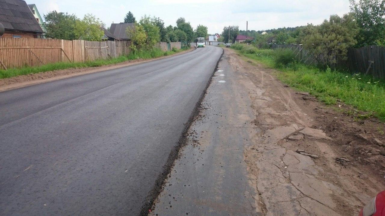Жители Кирово-Чепецка недовольны отремонтированной дорогой