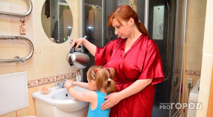 В Кирово-Чепецке в нескольких домах отключили холодную воду