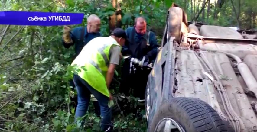 Новая информация о ДТП в Чепецком районе, где перевернулась машина такси