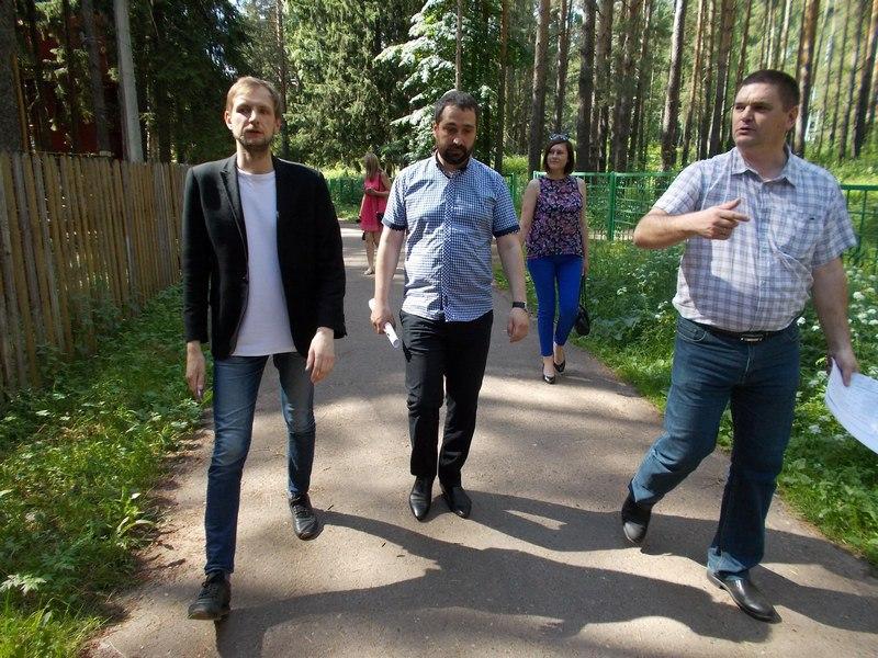 В Чепецке проходит санитарная очистка городского парка