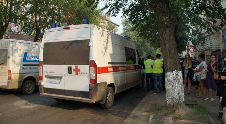 В Чепецке водитель иномарки во дворе сбил мужчину