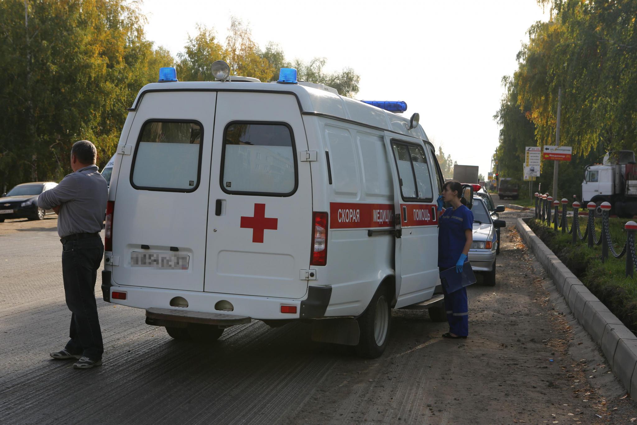 В Чепецком районе Mercedes-Benz сбил пешехода