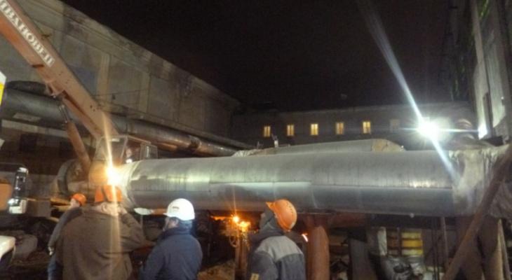 На ТЭЦ в Чепецке произошла аварийная ситуация