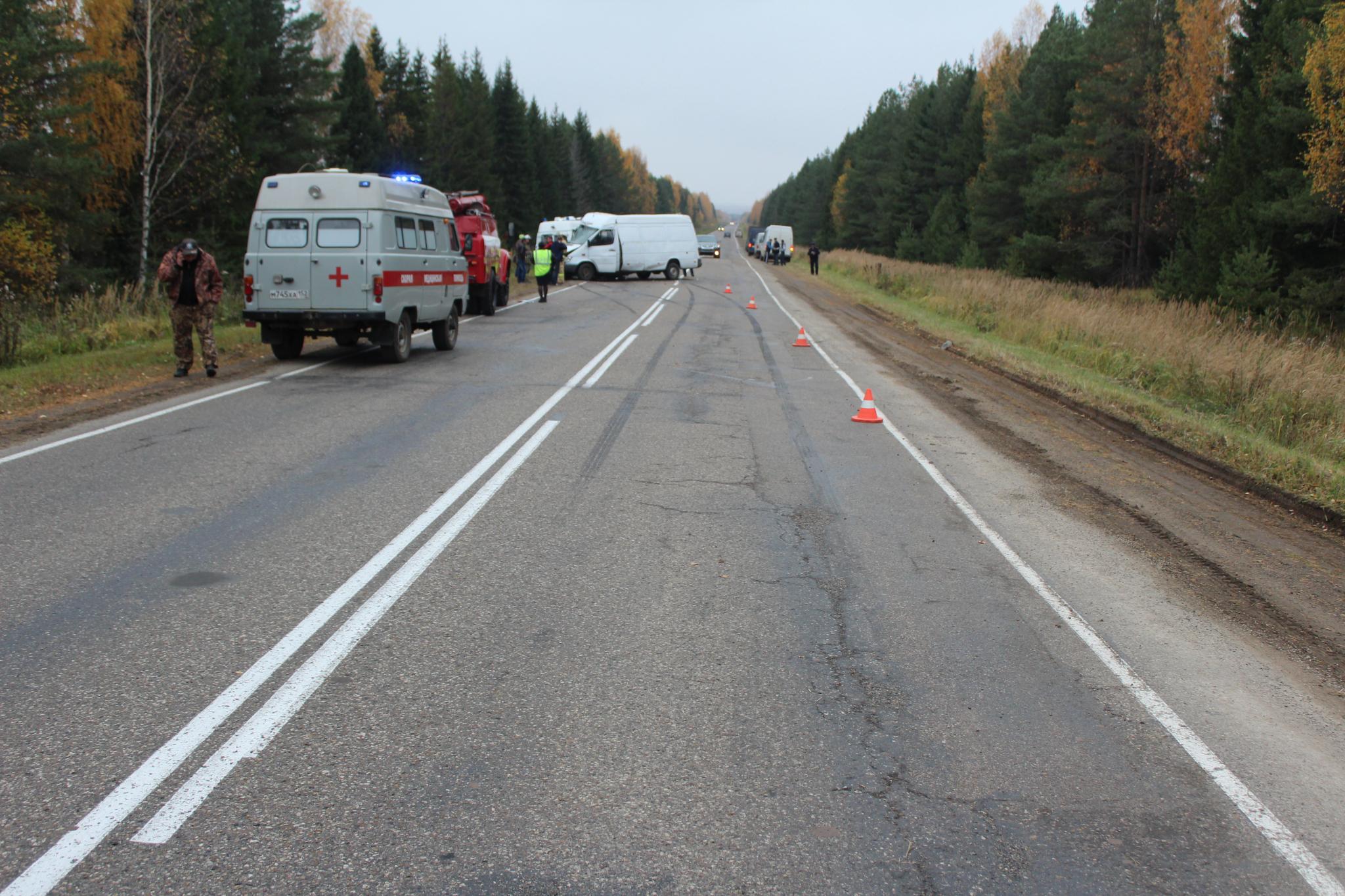В Кировской области в ДТП погиб один человек, еще пятеро получили травмы