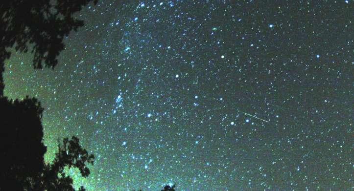 Жители Кирово-Чепецка смогут увидеть один из самых красивых звездопадов