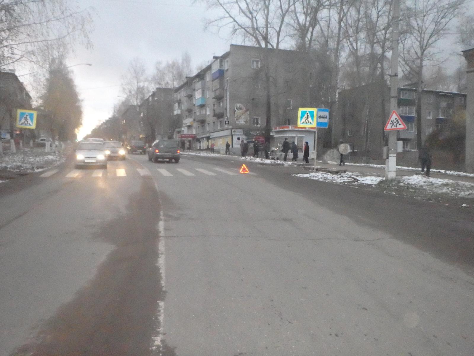 В Кирово-Чепецке пенсионер сбил ребенка на пешеходном переходе