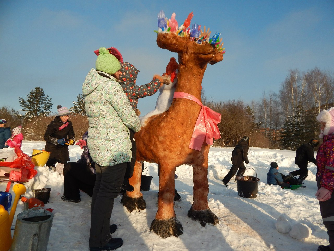 Стартовал прием заявок на общегородской конкурс снеговиков в Чепецке