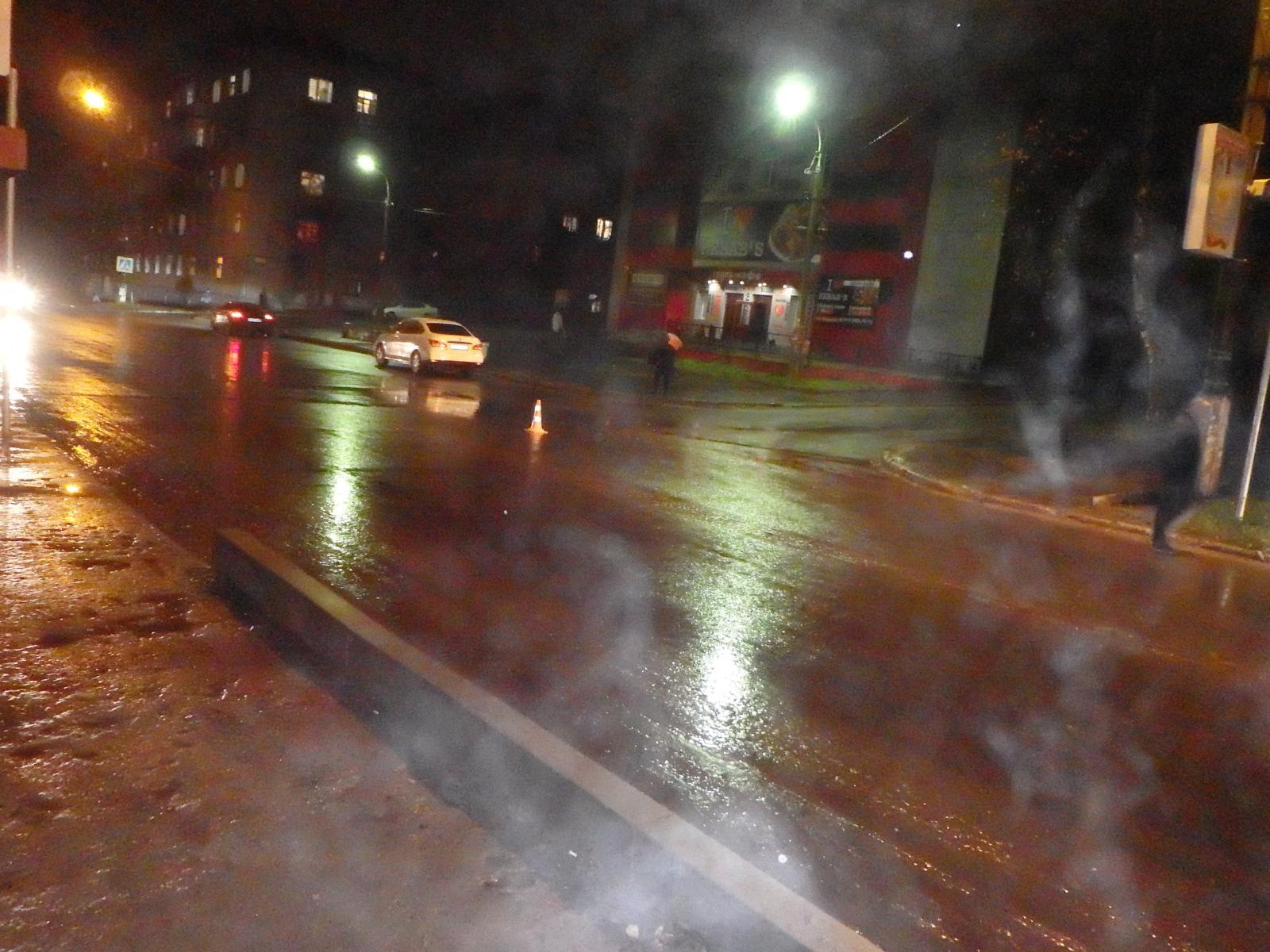 В Чепецке водитель сбил мужчину: пострадавшего увезли в больницу