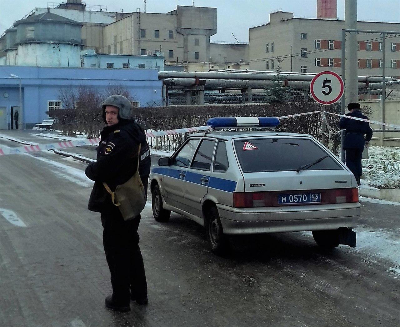 В Кирово-Чепецке оцепили территорию ТЭЦ