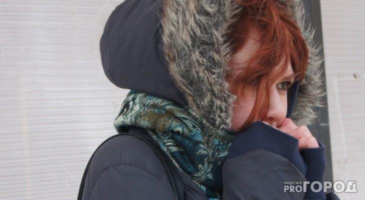 Метеорологи зафиксировали 18 градусов мороза в Кировской области