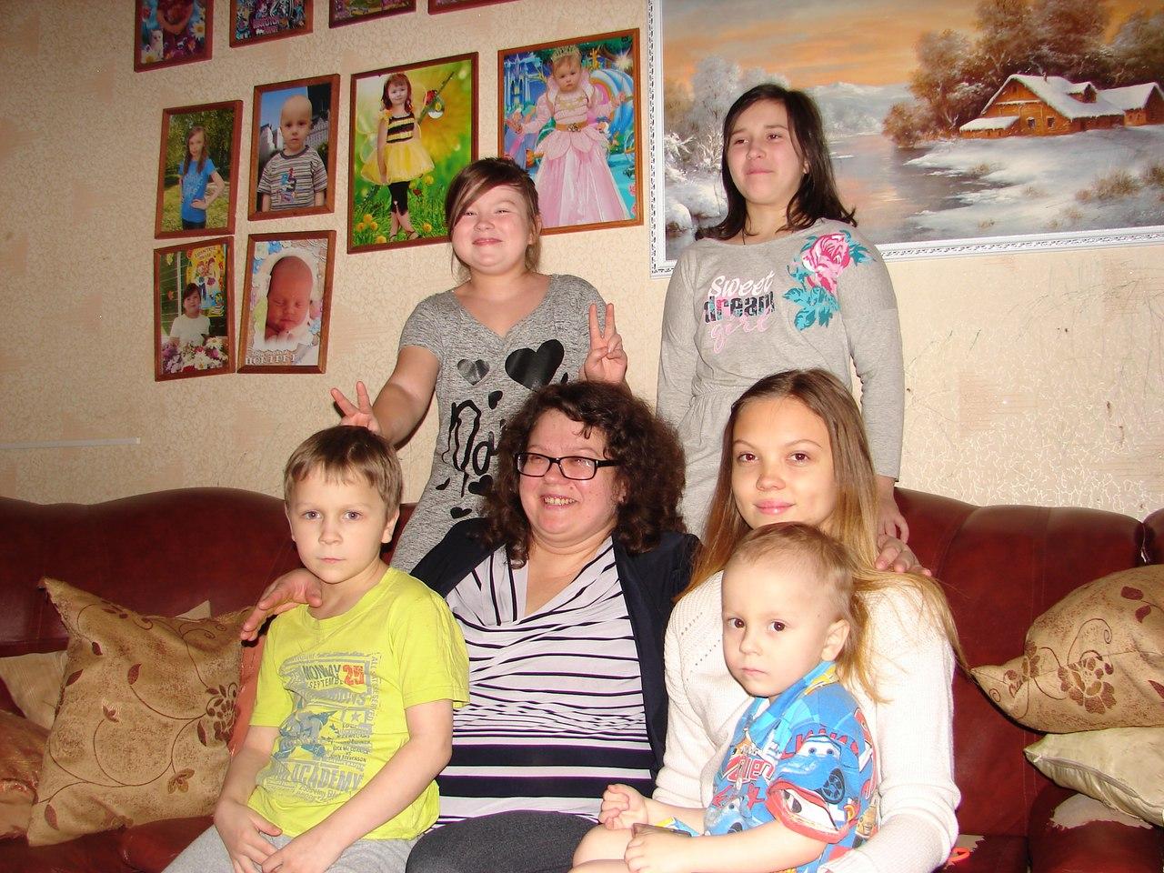 Многодетная мама из Чепецка: «Все обязанности мы делим поровну»