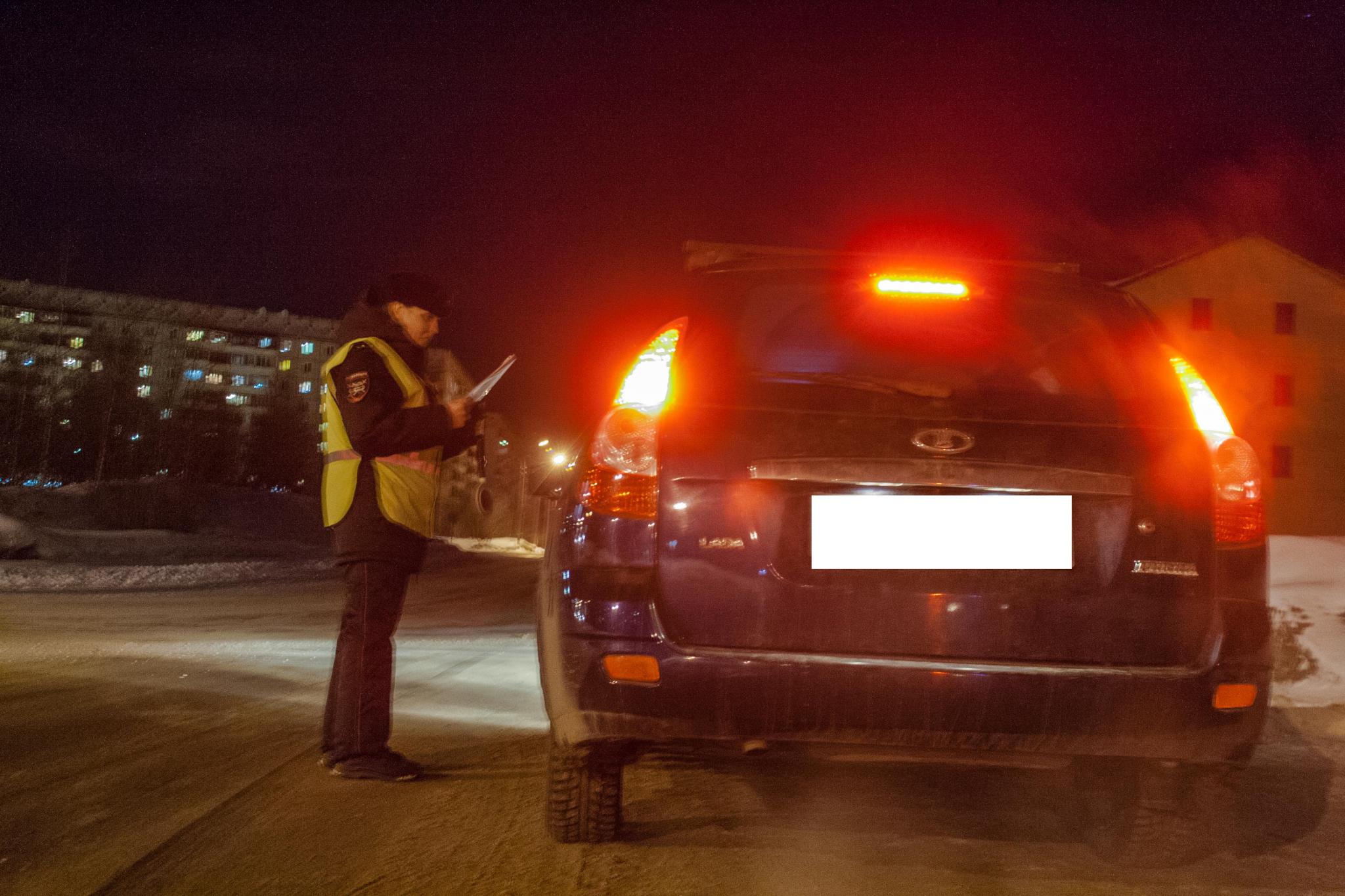 Автоинспекторы просят чепчан во время метели и снегопада не садиться за руль