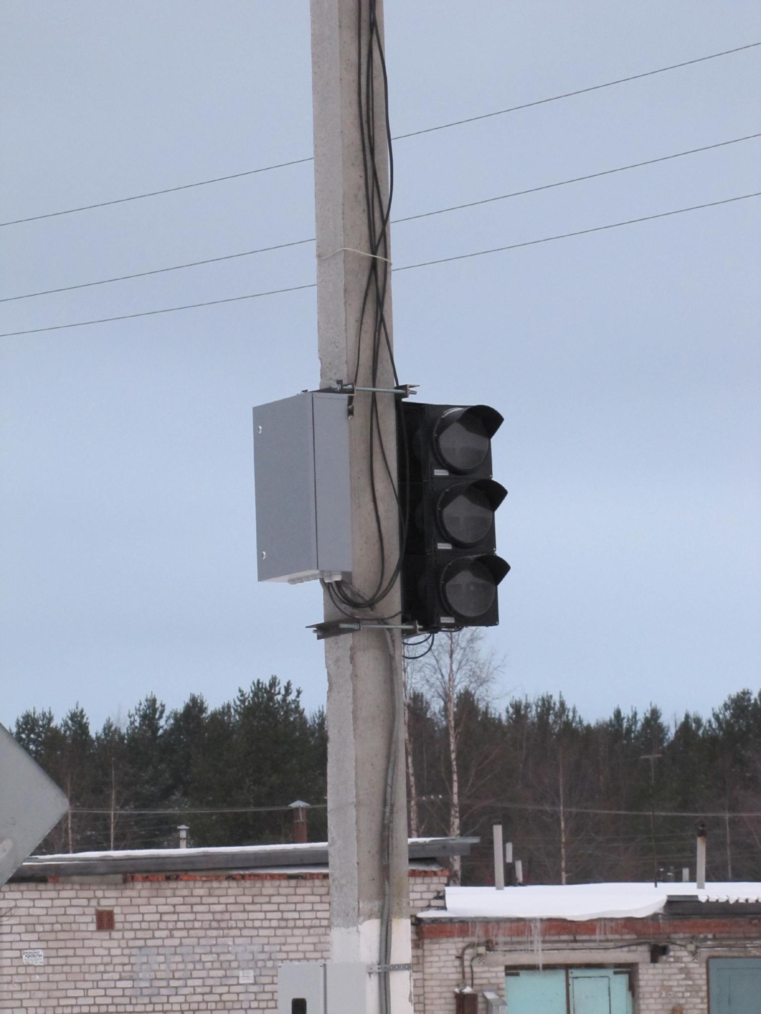 В Кирово-Чепецке временно отключат светофор
