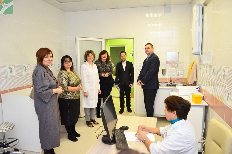 В Чепецке заработала новая детская поликлиника
