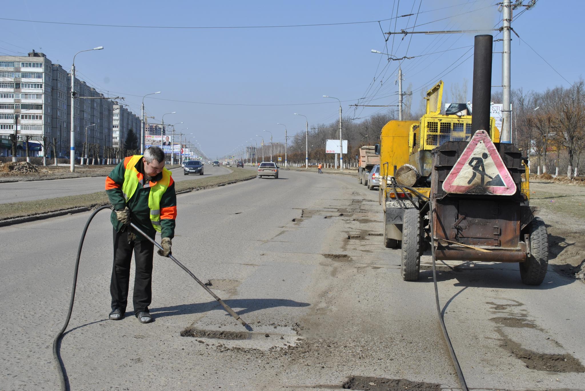 В список ремонтируемых в 2018 году попала дорога Кирово-Чепецка