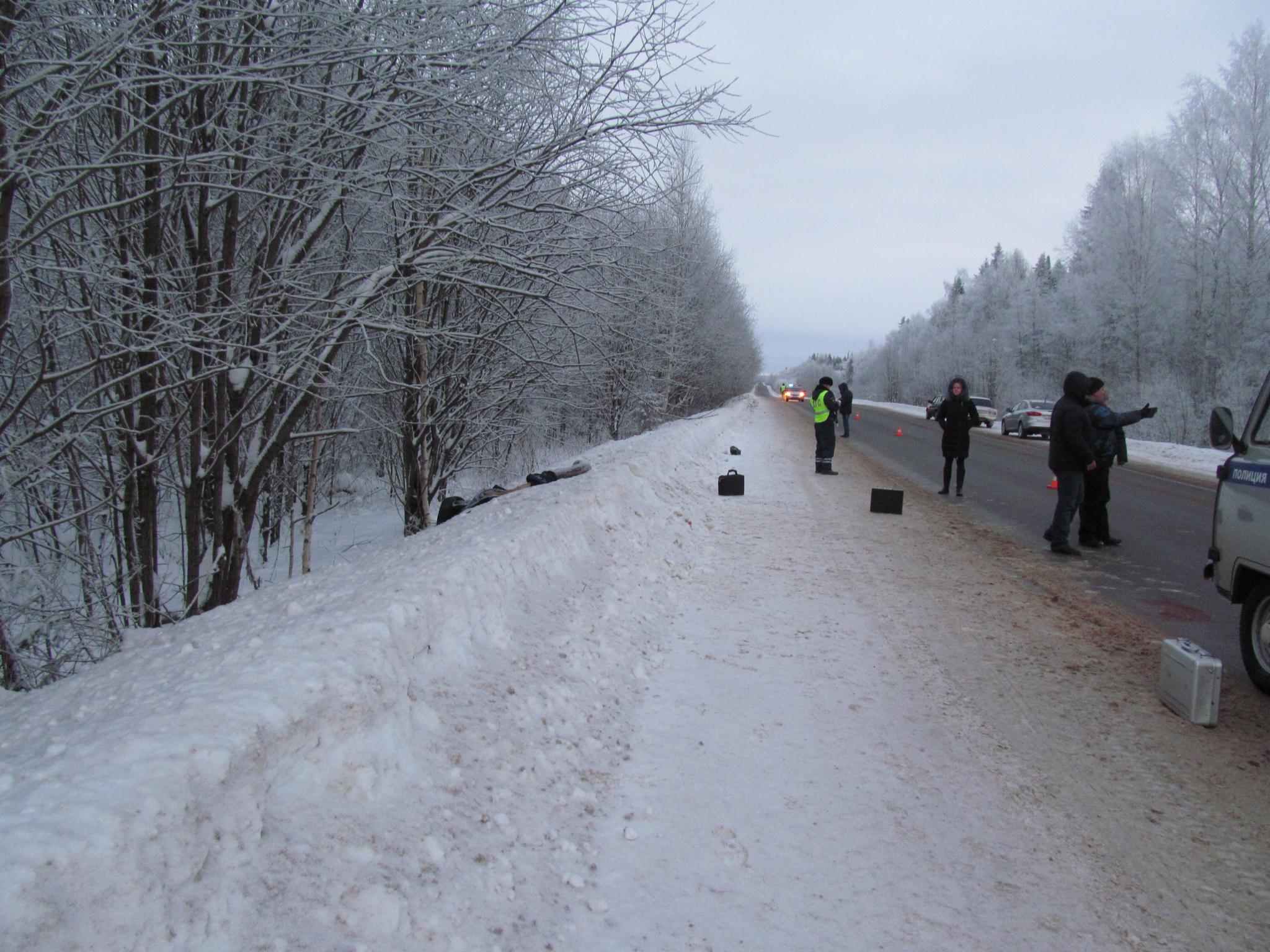 На трассе Киров -Кирово-Чепецк - Зуевка нашли тело мужчины