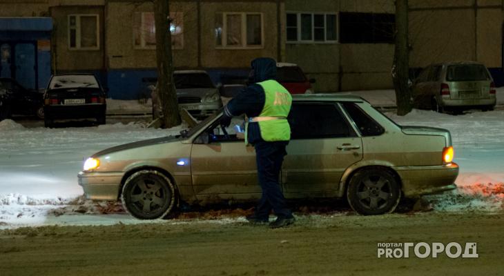 В Кирово-Чепецком районе за выходные задержали двоих пьяных водителей