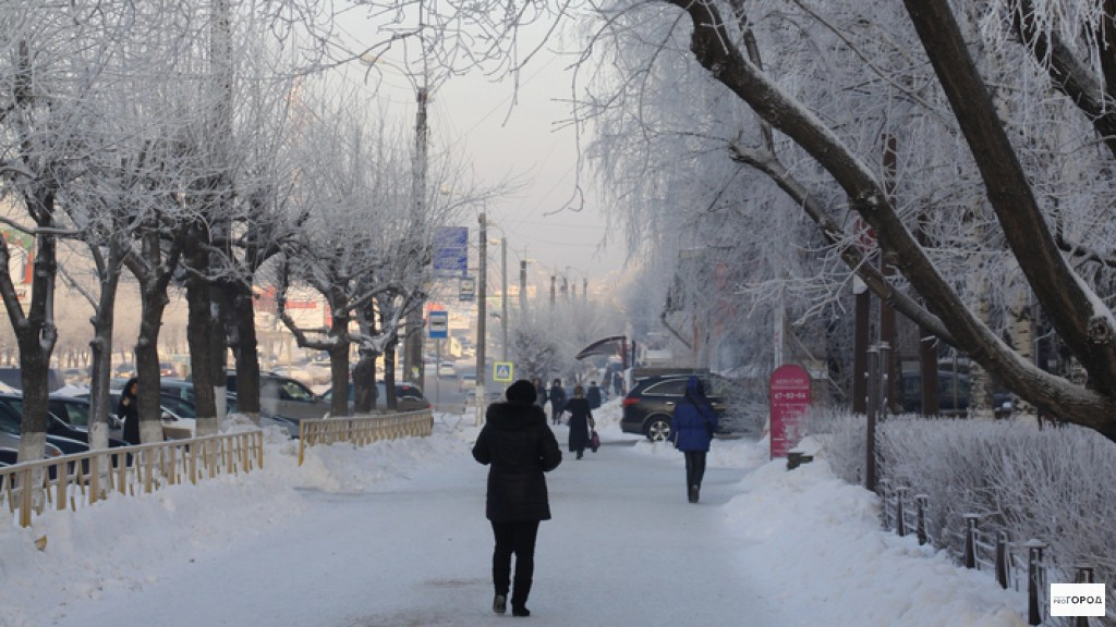 Прогноз погоды в Чепецке на неделю: ожидается похолодание до -19