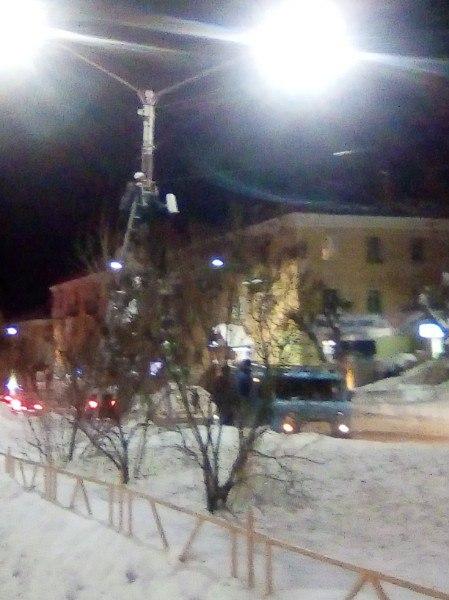 В центре Чепецка установили новую камеру видеофиксации