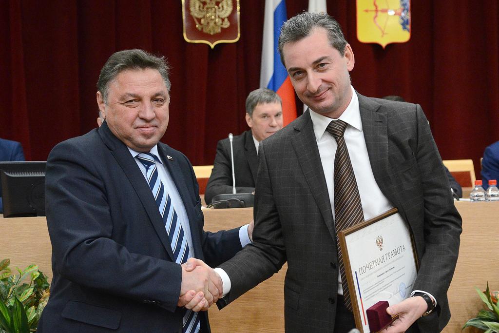 Работу депутата ОЗС Сергея Момцемлидзе отметили на федеральном уровне