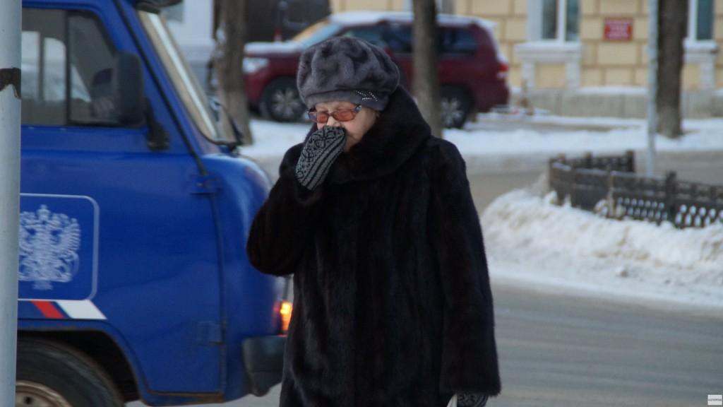 В ночь на понедельник температура воздуха в Чепецке  может опуститься до -34 градусов