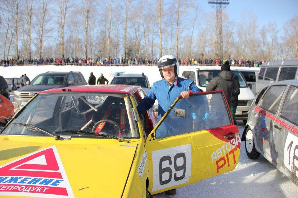 Победитель ледового трека: «Расход гоночного авто - 50 литров топлива на 100 километров»