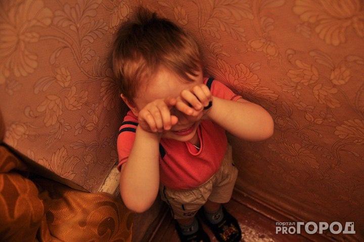 В Кирово-Чепецке отец избивал трехлетнего сына