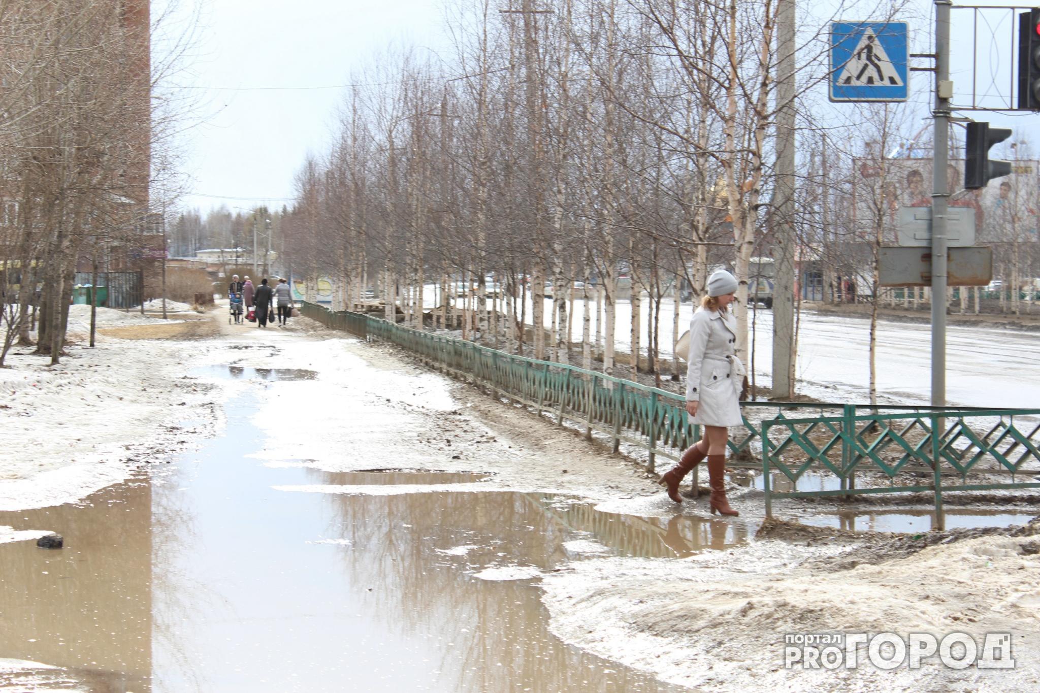 Прогноз погоды: в Чепецке рабочая неделя будет теплой