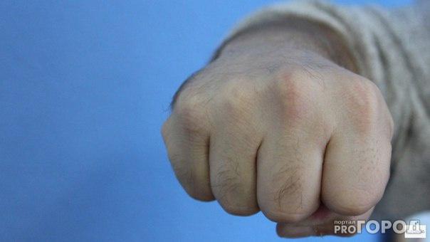 Чепчанин ударил полицейского кулаком в лицо