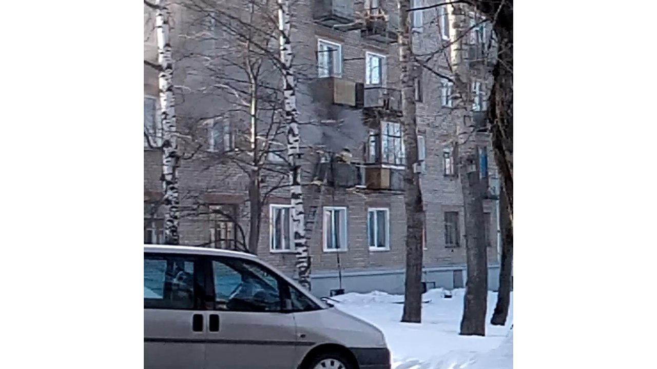 В Чепецке загорелся офис на проспекте Мира