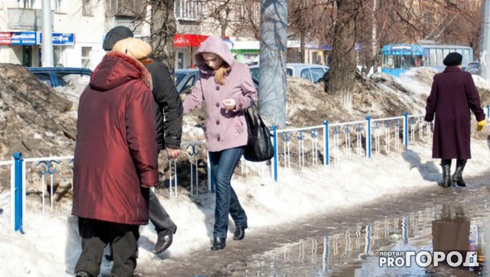 В Чепецк возвращается весна: к концу недели в городе потеплеет