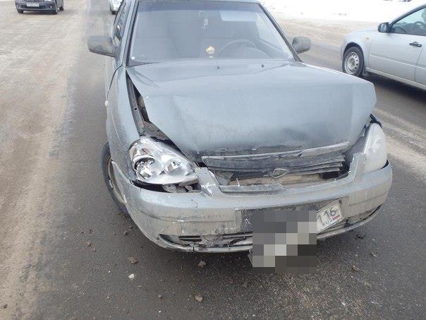 В Чепецке столкнулись два ВАЗа: на месте работали спасатели