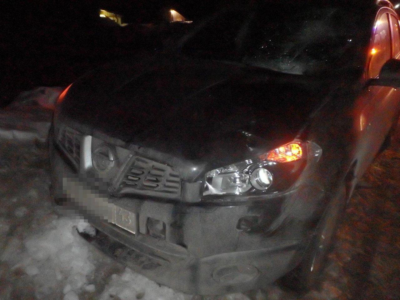 В Чепецке парень за рулем иномарки сбил пешехода