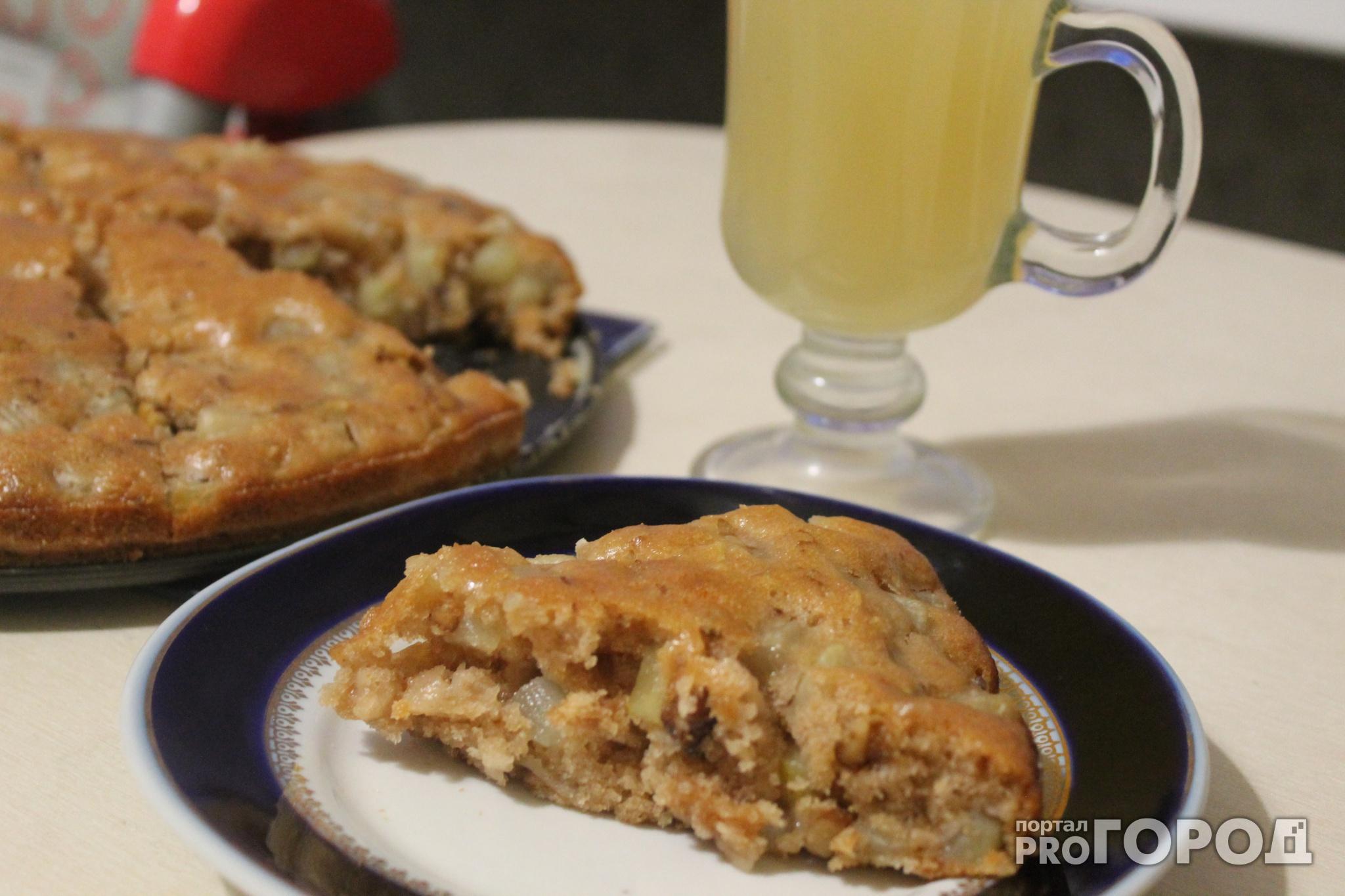 Постный рецепт: грушево-медовый пирог