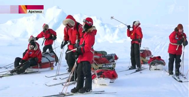 О кировской школьнице, которая побывала на Северном полюсе, показали сюжет по Первому каналу