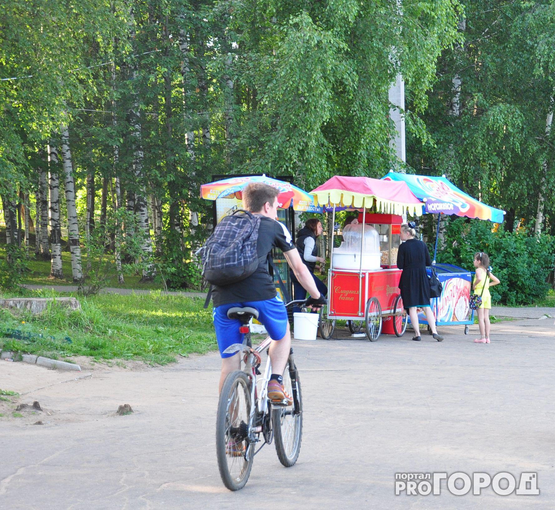 В Чепецке молодой человек украл велосипед и по дороге домой признался об этом полицейским