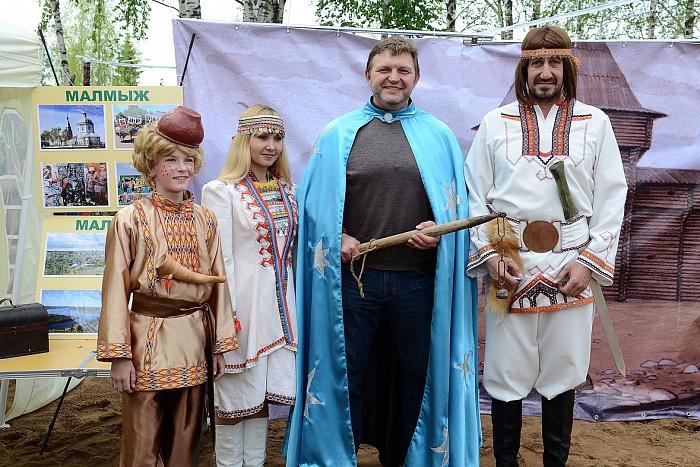 Три тысячи кировчан посетили открытие Сказочных игр на Вятке