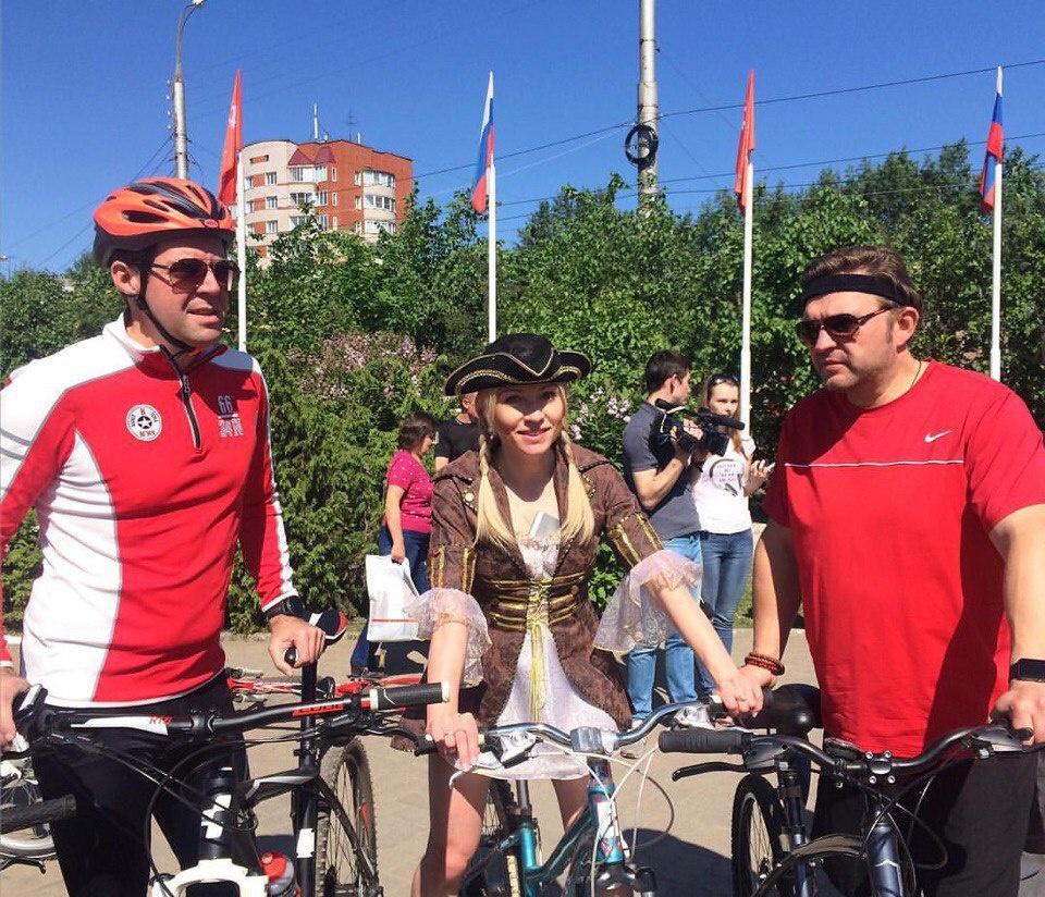 В Кирове состоялся костюмированный велопарад