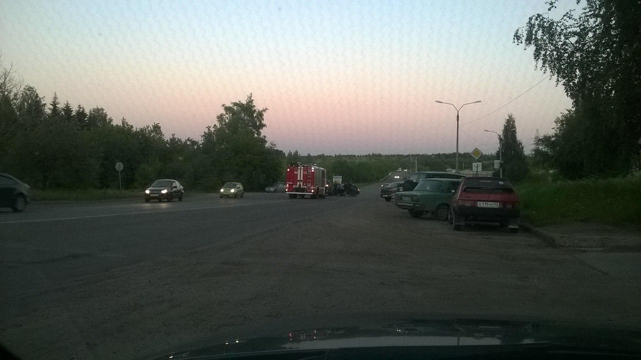 В Кирово-Чепецке начинающий водитель спровоцировал ДТП: пострадали два человека