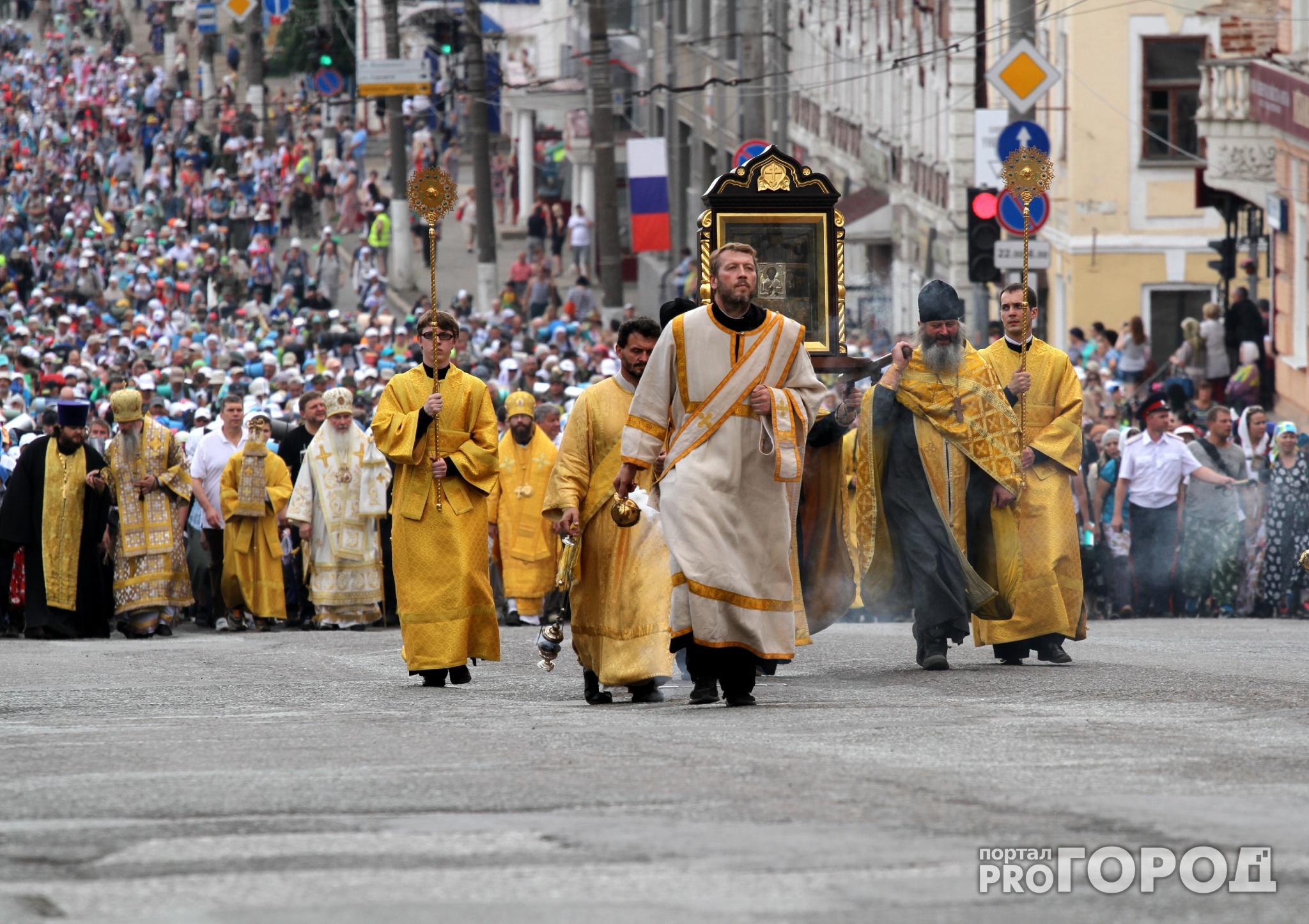 Великорецкий крестный ход: расписание и автобусы для паломников