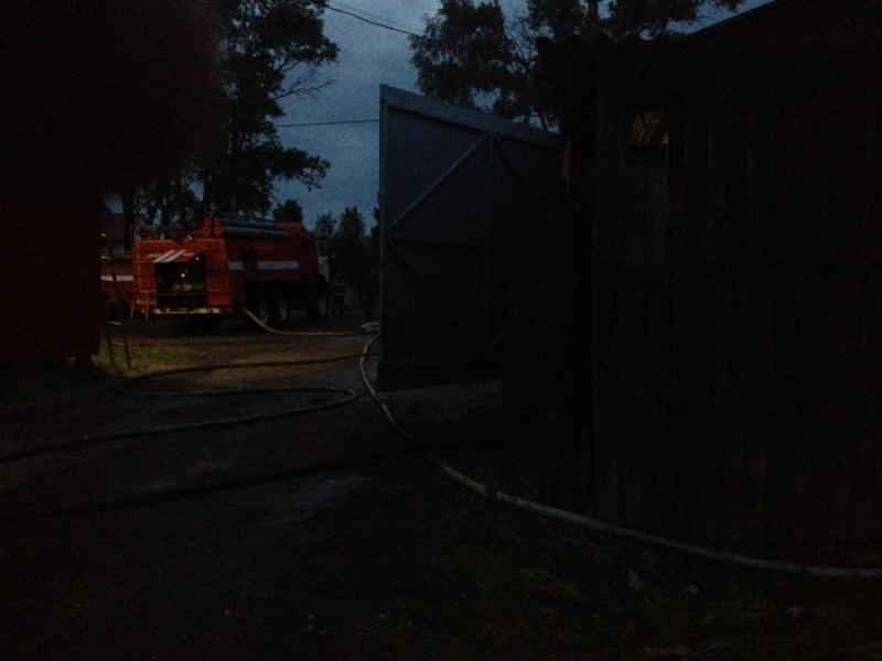 В Кирово-Чепецком районе горел комиссионный магазин