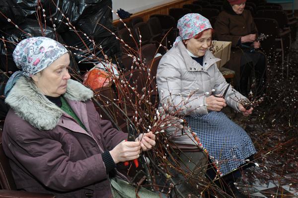 В Чепецке православные отмечают Вербное воскресенье